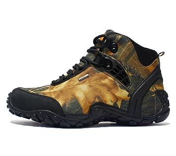 LUCKY-U Zapatos para Caminar, Zapatos De Escalada para Hombres Zapatillas para Correr A Prueba De Agua - Zapatos Ocasionales Transpirables, Zapatos Cómodos ...