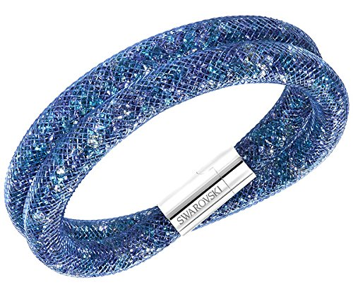 Swarovski Stardust 5189759 Blue Multi-color Crystals Double Wrap Bracelet - M by SWAROVSKI