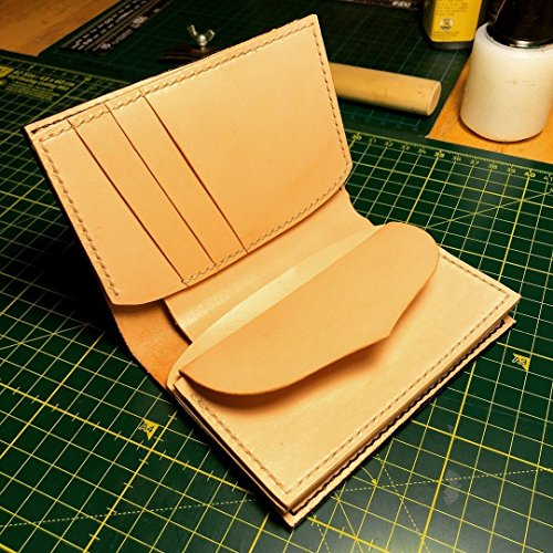 Middle Wallet by CloudyLeather