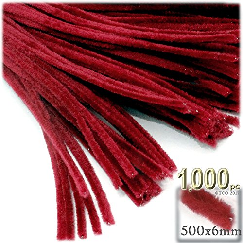 The Crafts Outlet Chenille Stems, Pipe Cleaner, 20-inch (50-cm), 1000-pc, Purple by The Crafts Outlet (Image #3)