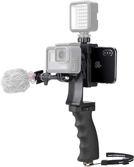 Kit de vídeo práctico 2 en 1 para GoPro y Smartphone ...