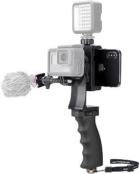 Handle Grip Stabilizer Phone Photography Holder Handheld Action Cameras