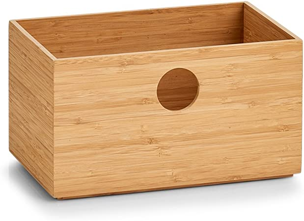 Zeller Caja para Guardar, Bamboo: Amazon.es: Hogar