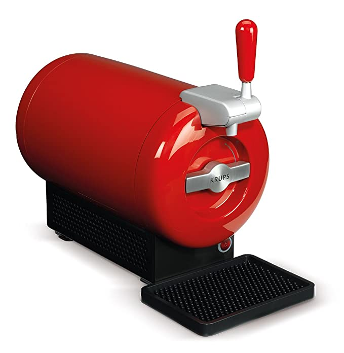 Pack THE SUB Desperados | Tirador de cerveza de barril THE SUB Rouge Edition + 2 TORP Desperados barril de cerveza de 2 litros + 4 vasos Desperados: ...
