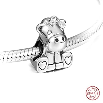 e649b8ef1 BAKCCI 2018 Autumn Collection Bruno The Unicorn Bead 925 Silver DIY Fits  for Original Pandora Bracelets