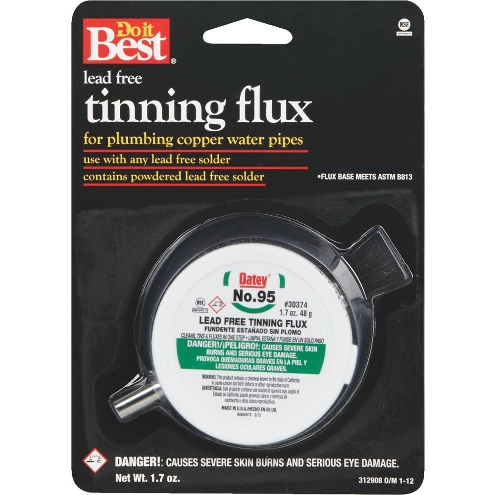 Do it Best No. 95 Lead-free Tinning Flux, 1.7OZ #95 LEAD FREE FLUX - Power Soldering Accessories - Amazon.com