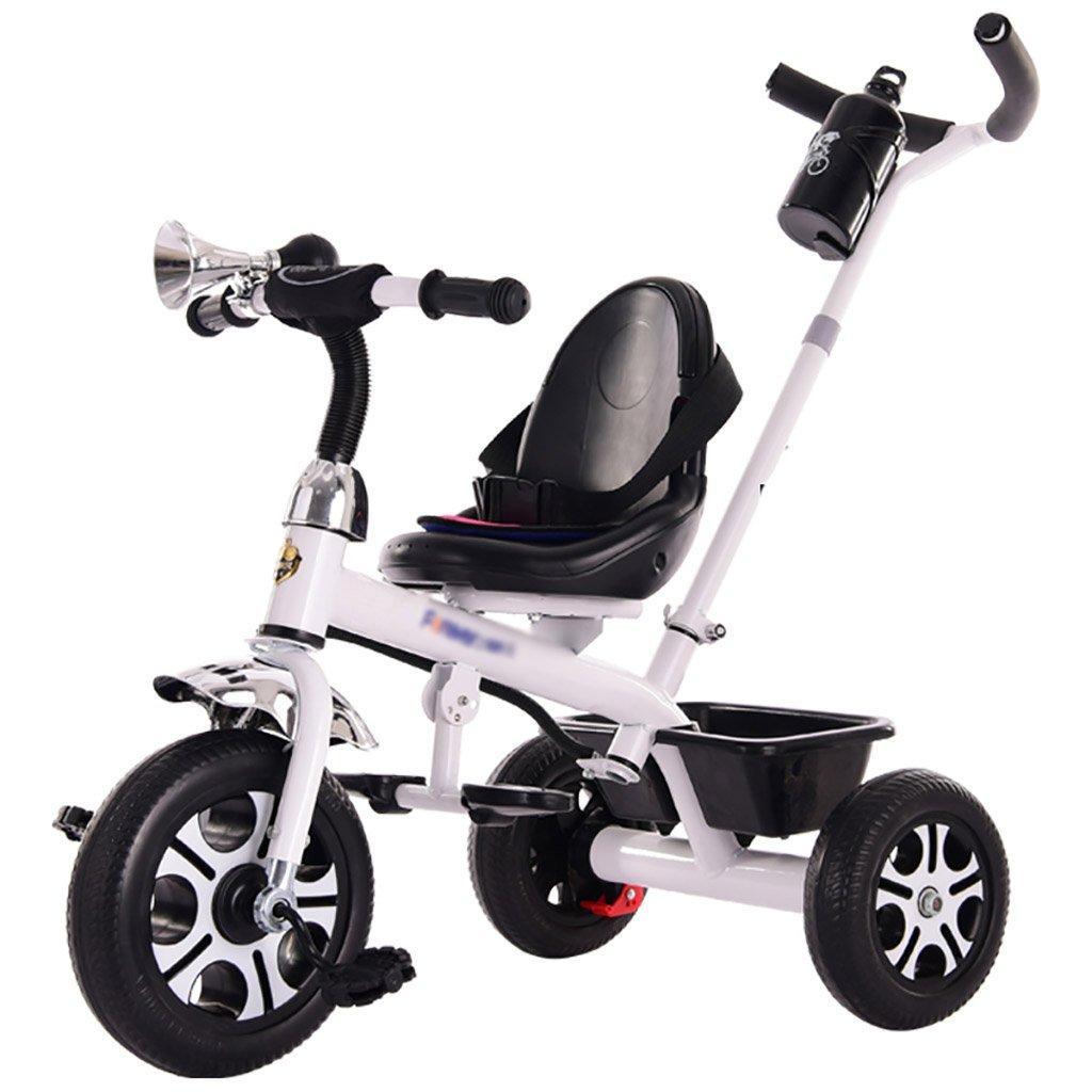 子供用トライク、三輪車の乗り物バイク、赤ちゃんの滑り自転車、おもちゃの自転車、自転車の子供、フットペダルの3つの車輪 (色 : B) B07CZD895R B B