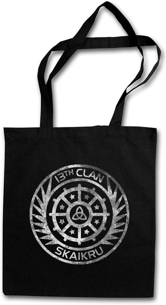 Urban Backwoods SKAIKRU Clan Logo Hipster Bag Les 100 13th Clan 13 Klan The Insignia Zeichen Sign