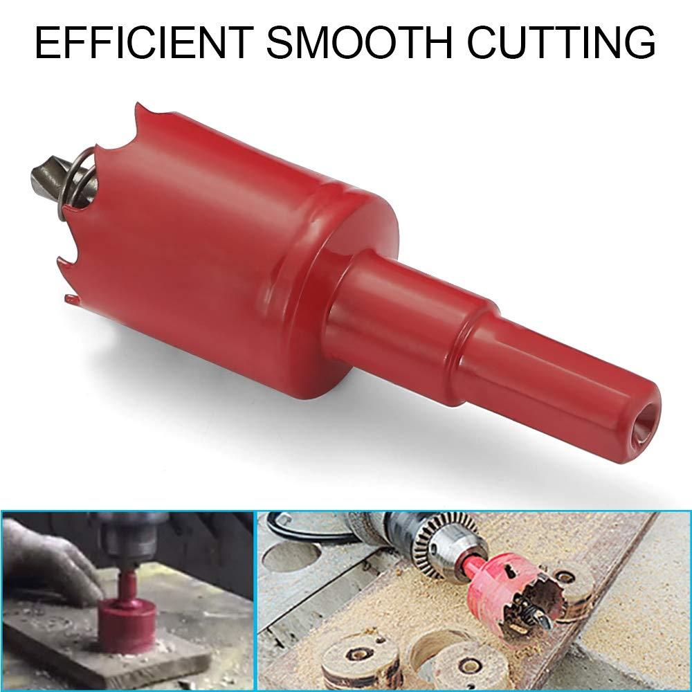 Scie Cloche Drill M42 Bim/étal pour bois//plastique//contreplaqu/é//pl/âtre mou//panneau acrylique//m/étal mince//cloison s/èche 25mm