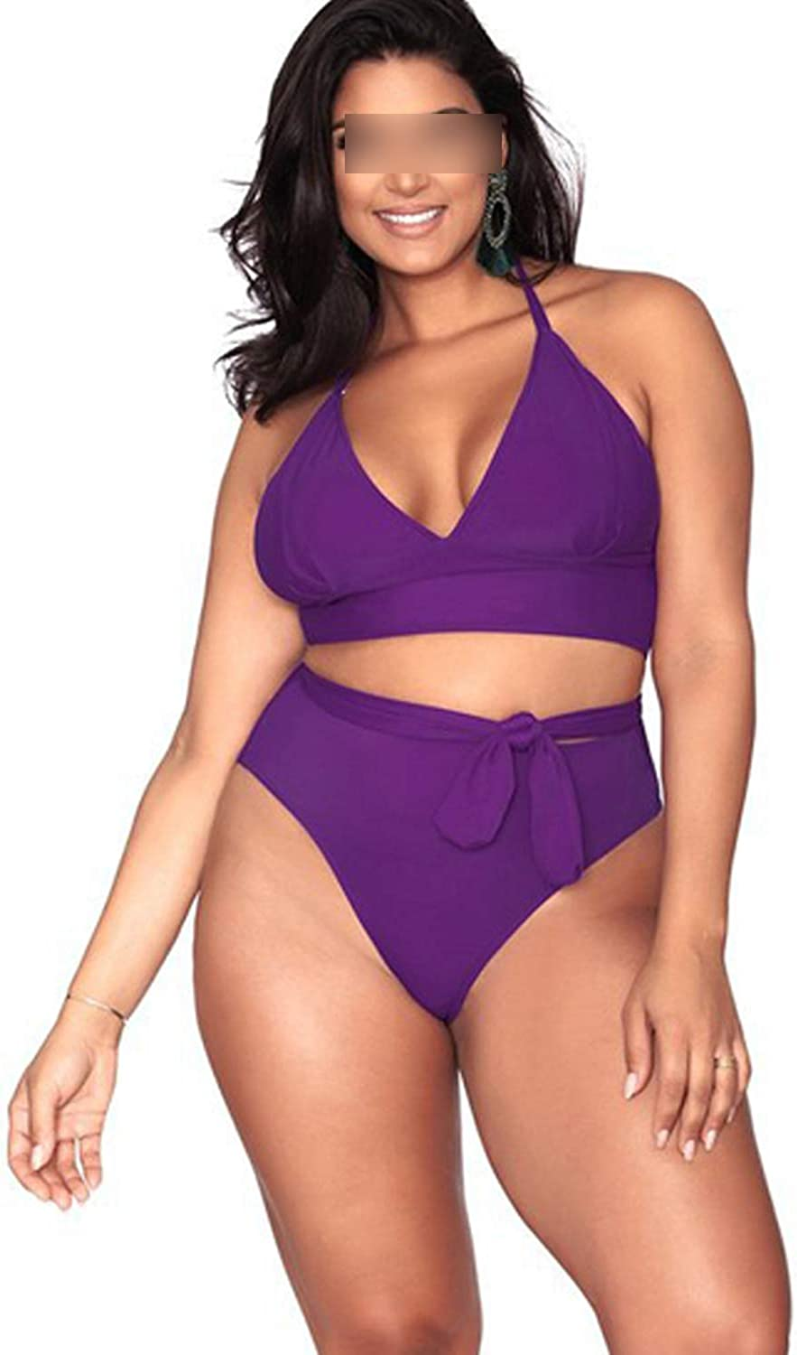 Mihqin Toy Swimsuit Cover The Piece Swimming Suit Big Size Swimwear Plus 5XL Conservative Beach Skirt Solid Color Bikini 61ywV4v8sML