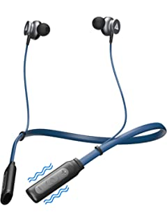 b9cd74088f7 Boult Audio ProBass Curve Neckband Wireless Bluetooth in-Ear Earphones with  mic (Blue)