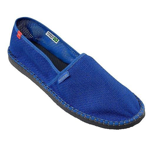 Zapatos Alpargatas Havaianas Originales Fresco Listra Estrella Azul: Amazon.es: Zapatos y complementos