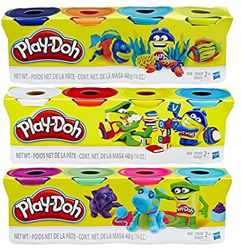 Buy now Play-Doh HASB5517BAMZ 4-Pack of Colors Gift Set