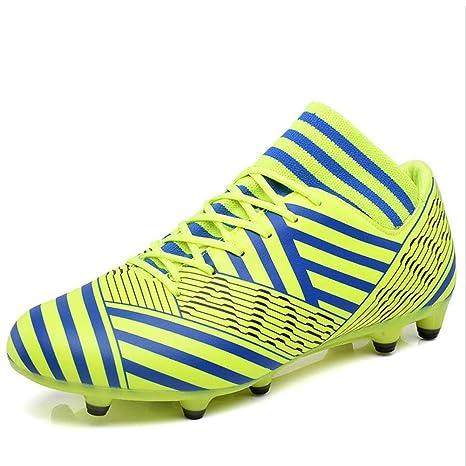XUE Zapatillas de fútbol Lovers de Piel, Tacos de fútbol, Botas de fútbol,