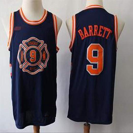 SHR-GCHAO Knicks Novato RJ-Barrett # 9 Jersey de Baloncesto ...