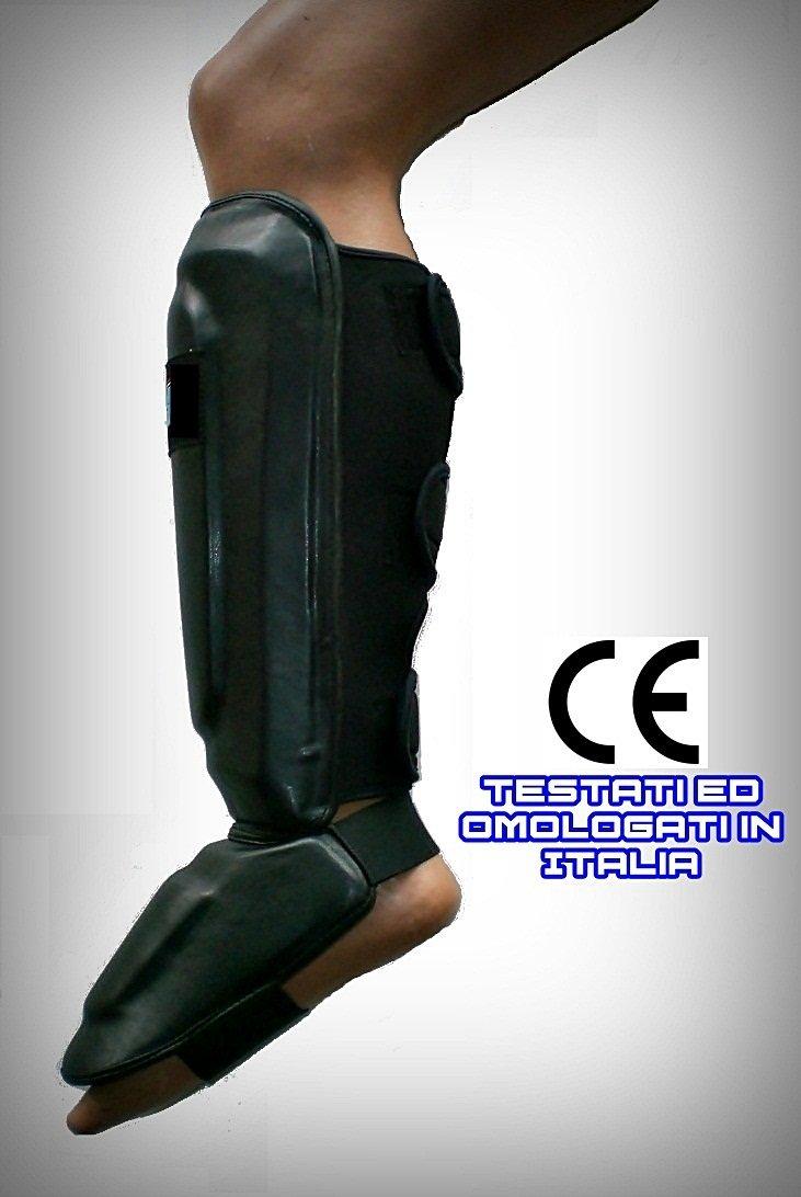 mmasport paratibie Thai Boxe Professionali a Triplo Velcro Modello HC2-pro certificati CE