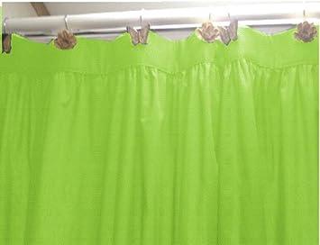 Amazon.com: United Linens 10 Gauge HEAVY DUTY Shower Curtain Liner ...