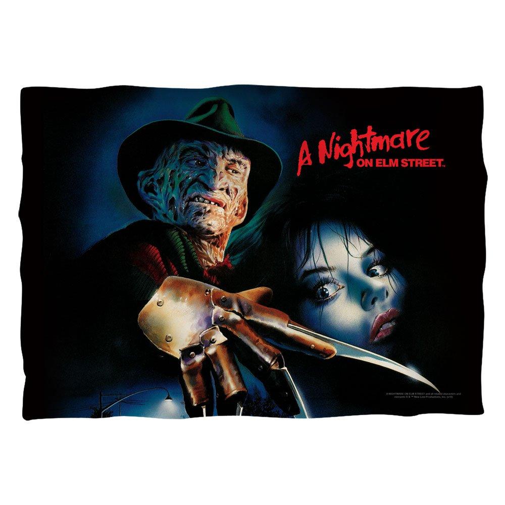 Nightmare On Elm Street Freddy Krueger Slasher Movie Poster 2 Sided Pillow Case