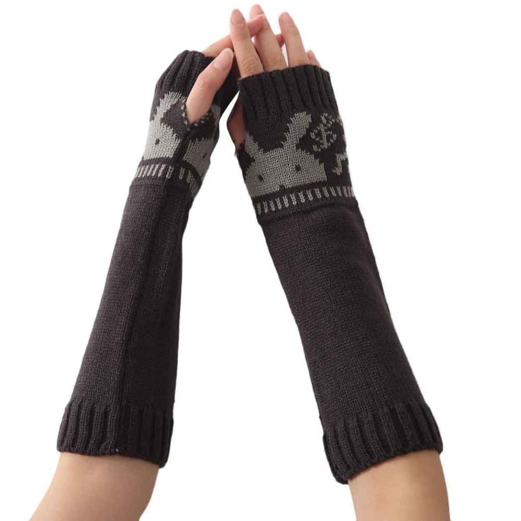 Amazon.com: Bestpriceam Women Knitted Glove Arm Sleeve