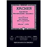 "Arches Watercolor Pad, Hot Press, 10"" x 14"""