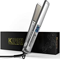 Kipozi Professional Nano-titanium Flat Iron Hair Straightener With Adjustable Temperature