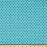 Riley Blake Designs Riley Blake Granny Chic Needlepoint - Tela de punto de cruz, color azul