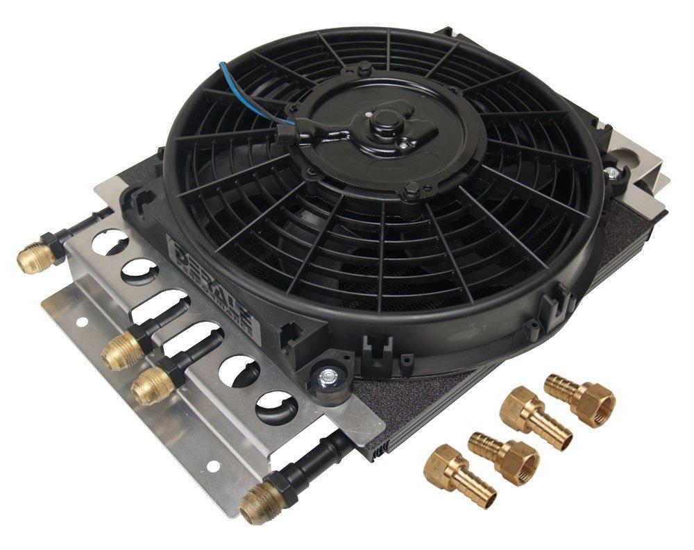 Derale 15220 Electra-Cool Remote Cooler Dual Circuit 2 in 1 Design
