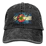 LETI LISW Colorado Changes ToneVintageBaseball Cap Adult Unisex Adjustable Hat