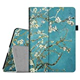 Fintie Apple iPad Air Folio Case - Slim Fit PU Leather Smart Cover with Auto Sleep / Wake Feature for iPad Air (iPad 5th Generation) 2013 Model, Blossom