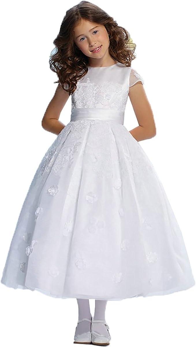 HotGirls HotGirls Kinder Appliques Pompöse Hochzeit Blumenmädchen
