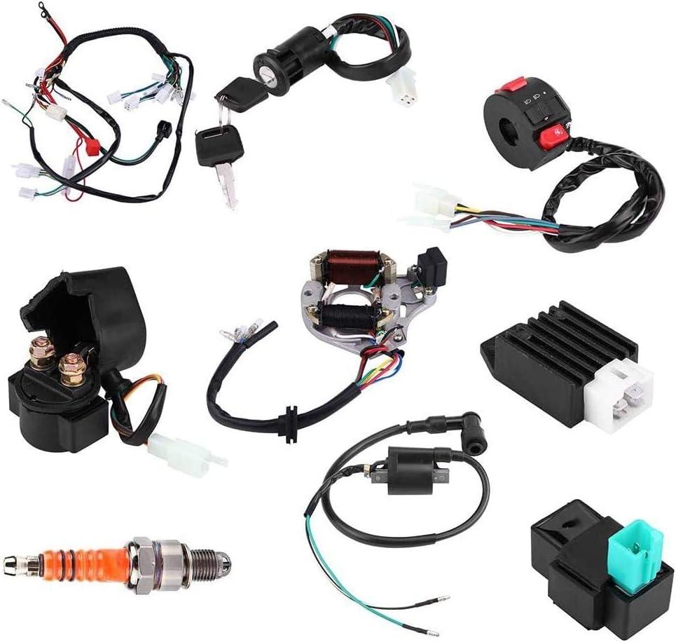 Gorgeri 50 70 90 110CC CDI Harness Assembly Wiring Kit ATV Electric Start QUAD