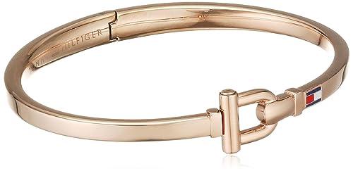 Tommy Hilfiger Damen-Armband Edelstahl vergoldet Emaille 20 cm-2700828