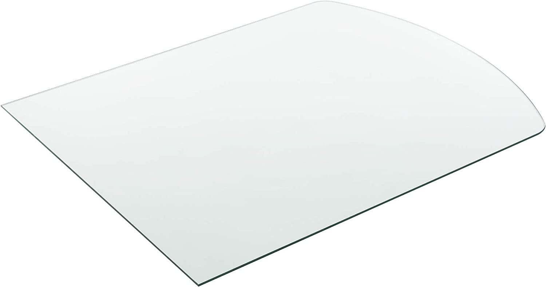 Tablero de Vidrio para Mesa de Centro para Mesa de Comedor Placa Inferior para Chimenea Vidrio Templado /Ø 400 x 6 mm Negro Neu.Haus