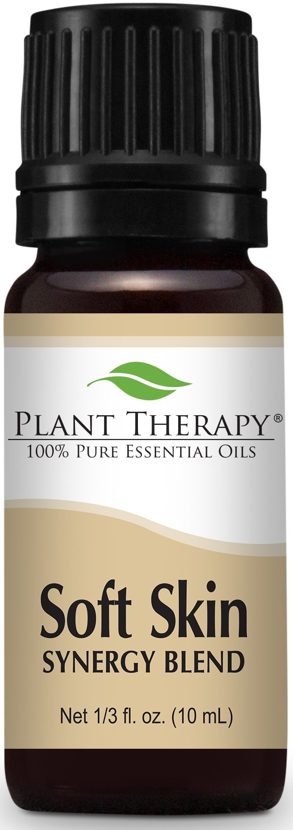 Plant Therapy Soft Skin Synergy Essential Oil 10 mL (1/3 oz) 100% Pure, Undiluted, Therapeutic Grade