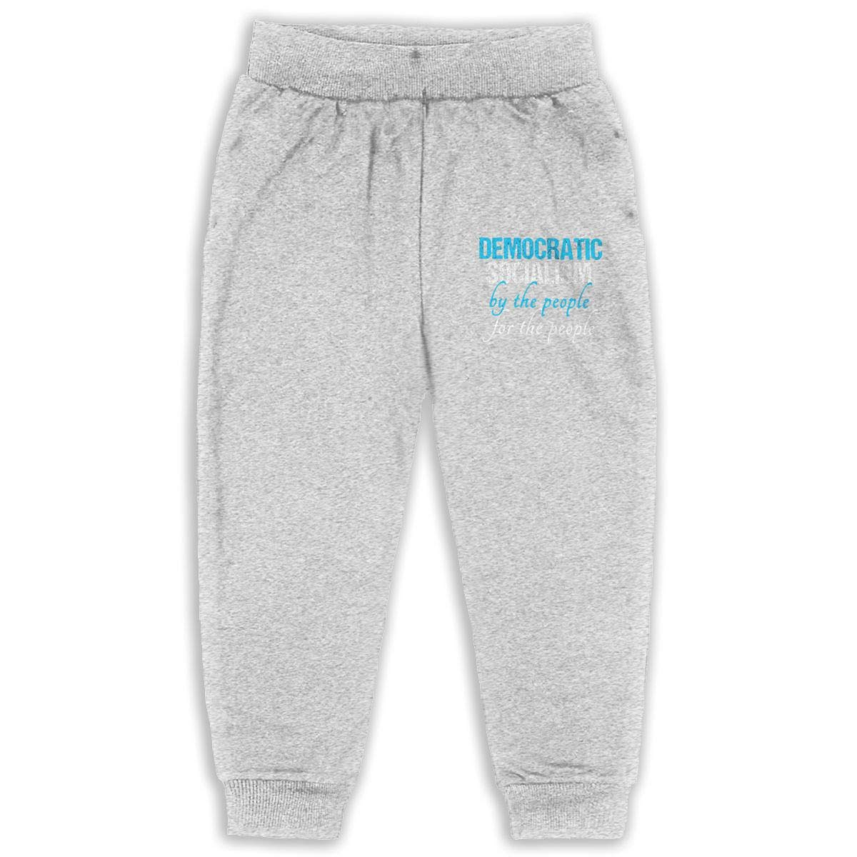 LFCLOSET Democratic Socialism by The People for The People Children Active Jogger Sweatpants Basic Elastic Sport Pants Black