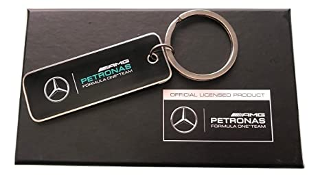 Mercedes AMG Petronas team llavero, Negro: Amazon.es: Coche ...