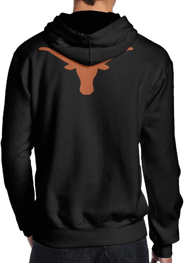 Psy The University Of Texas Black Print Sweatshirts For Men