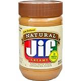 Jif天然奶油花生酱,28盎司(约793.7克),10包装