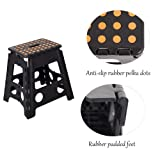 Dporticus Foldable Step Stool with Handle for