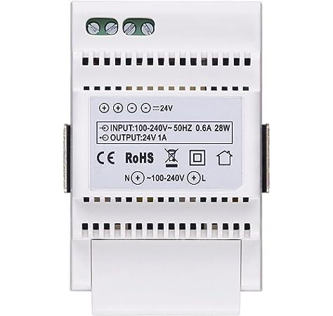 Vimar K40915 Kit de videoportero t/áctil monofamiliar con fuente de alimentaci/ón multipina gris la placa exterior-blanco el monitor