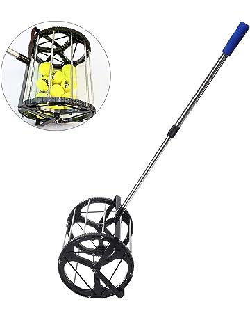 ShopSquare64 - Recogedor de Pelotas de Tenis de Golf (Acero Inoxidable)