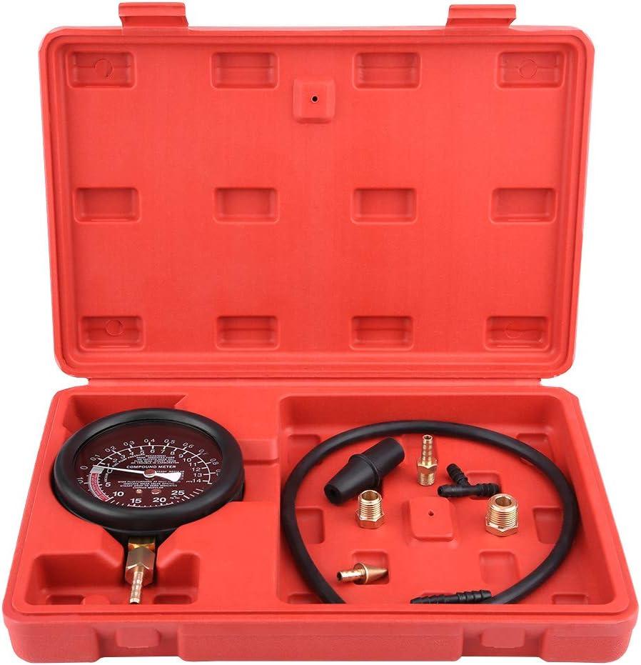 pompa del carburante per vuoto del motore dellauto e tester del vuoto Diagnostica della pressione del carburatore Diagnostica della pressione del carburatore Suuonee