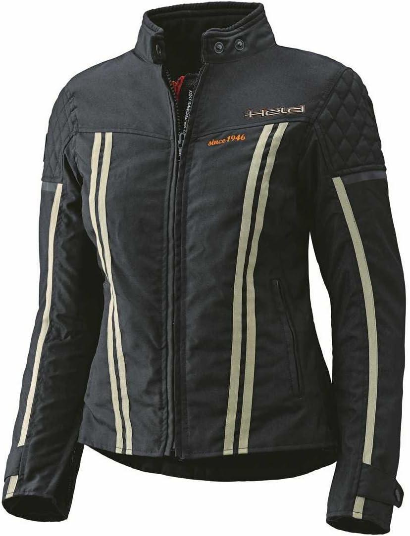 Farbe schwarz Gr/ö/ße D-M Held Jill sportliche Damenjacke
