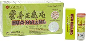 Huo Hsiang Cheng Chi Pien (Supports Immune, Respiratory, Stomach Health)(96 Tablets)(1 Box)(Solstice)