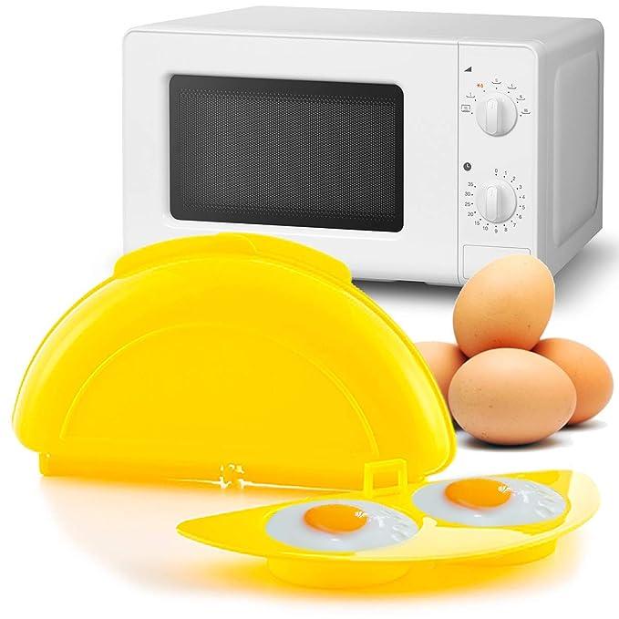 MovilCom® - Recipiente microondas, cuece Huevos Especial para ...