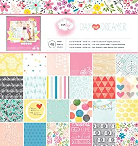 "American Crafts Paper Pad 12""X12"" 48/Pkg-Dear Lizzy - Daydreamer"