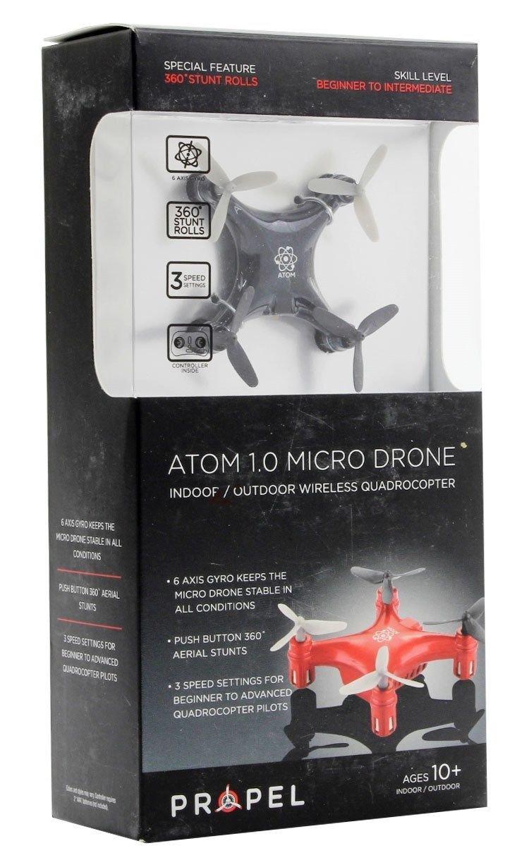 Propel idpatit 1.0 Titanium Micro dron: Amazon.es: Juguetes y juegos