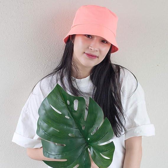 Commadonna Lightweight Trendy Color Summer K-Pop Bucket Hat