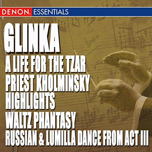 Glinka A Life For The Tzar Opera Priest Kholminsky