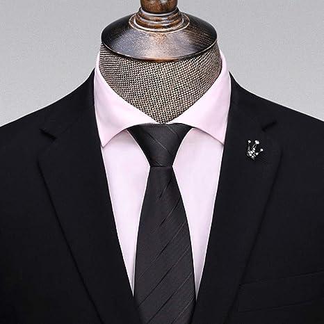 YXN Corbatas de Rayas/Color sólido/Corbata de Hombre ...